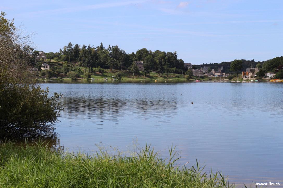 Jugon-Les-Lacs, le lac