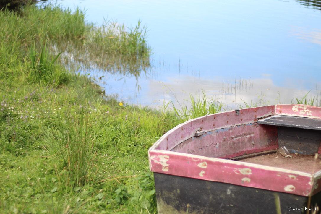 Détail d'une barque