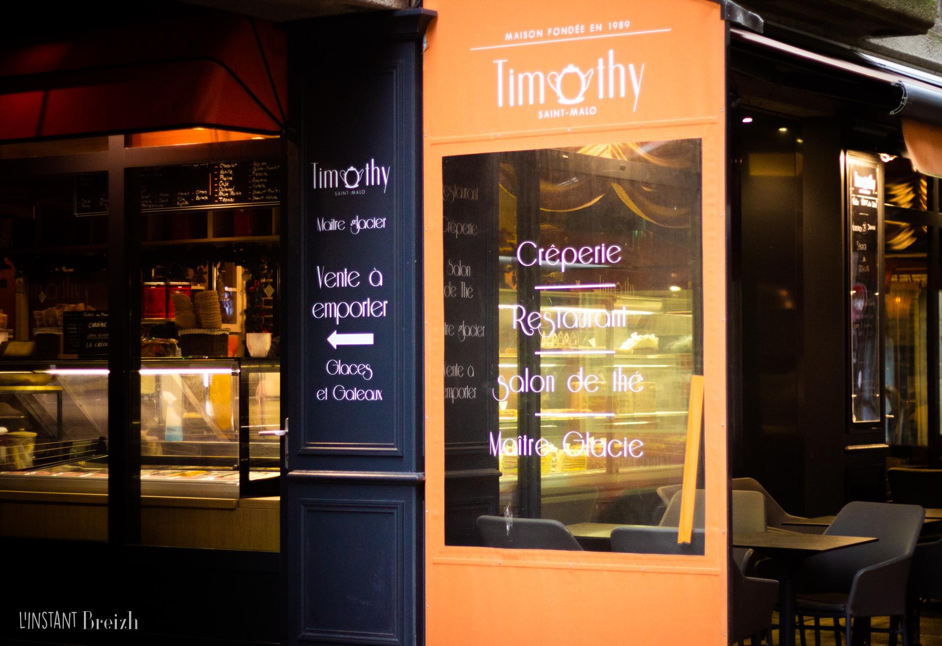 Timothy - Salon de thé